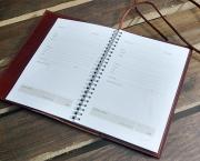 Съемная обложка для ежедневника на завязке
