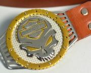 Кожаный ремень Harley Davidson